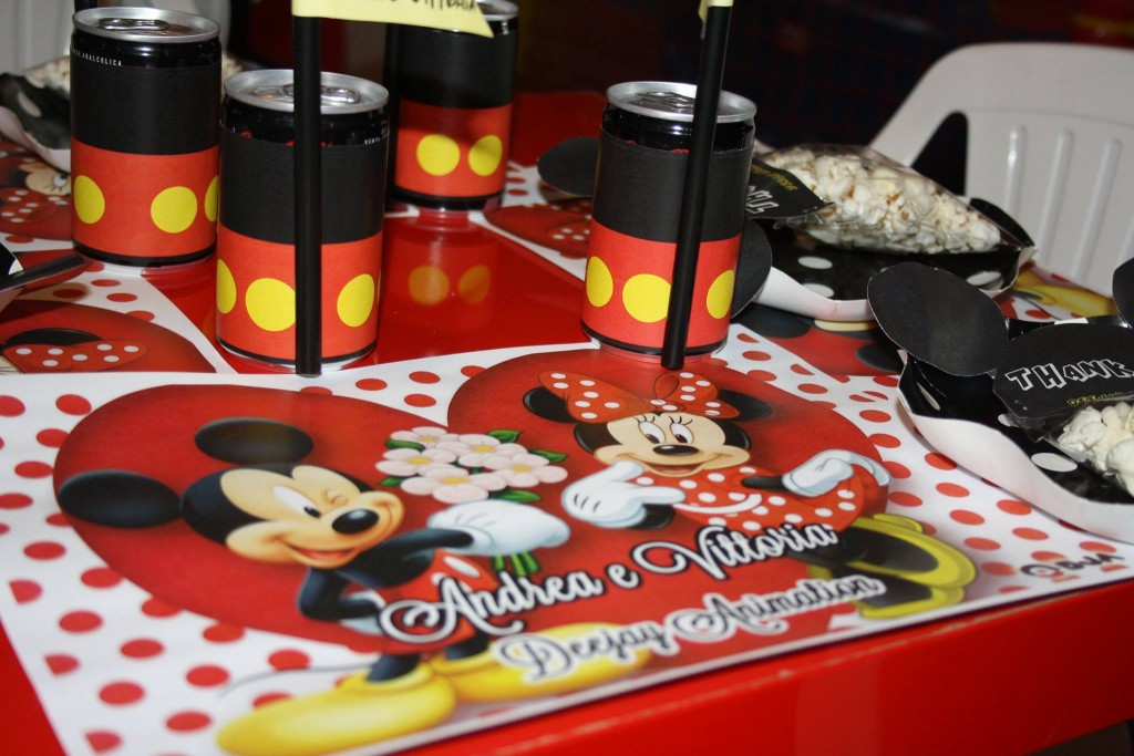 festa tema topolino