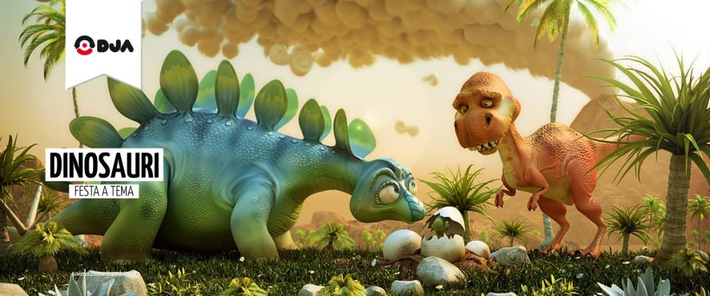 Festa a tema Dinosauri