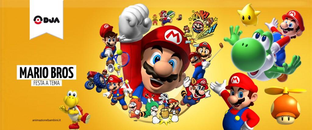 Festa a tema Super Mario Bros