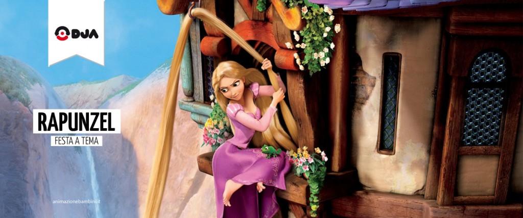 Festa a tema Rapunzel