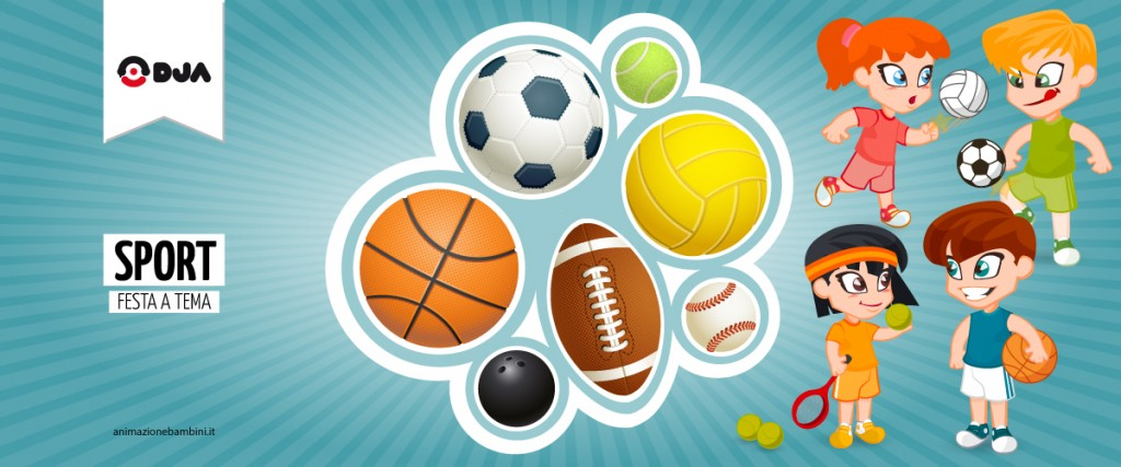 Festa a tema Sport