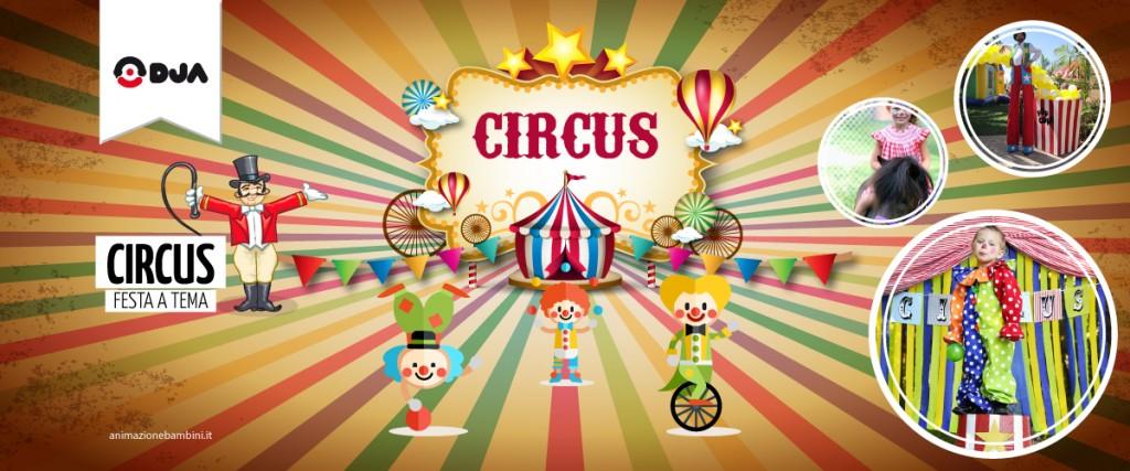 Festa a tema Circus