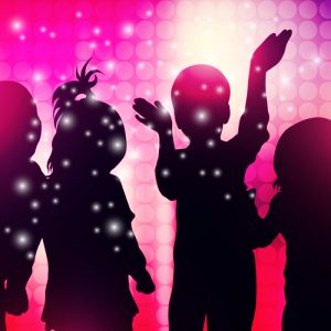 Festa a tema Disco Kids