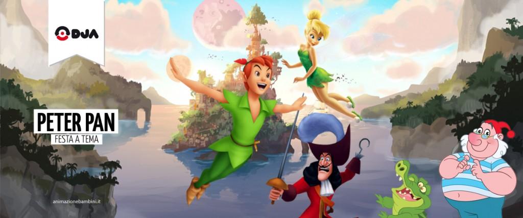 Festa a tema Peter Pan