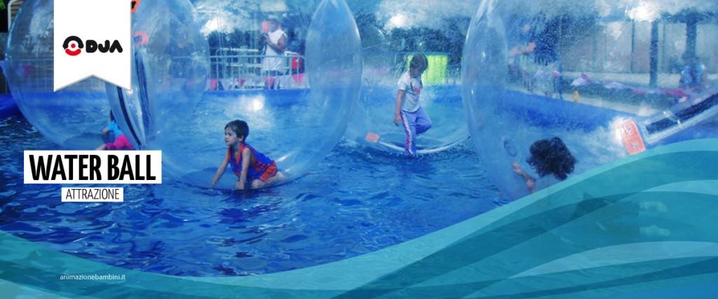 attrazione water ball