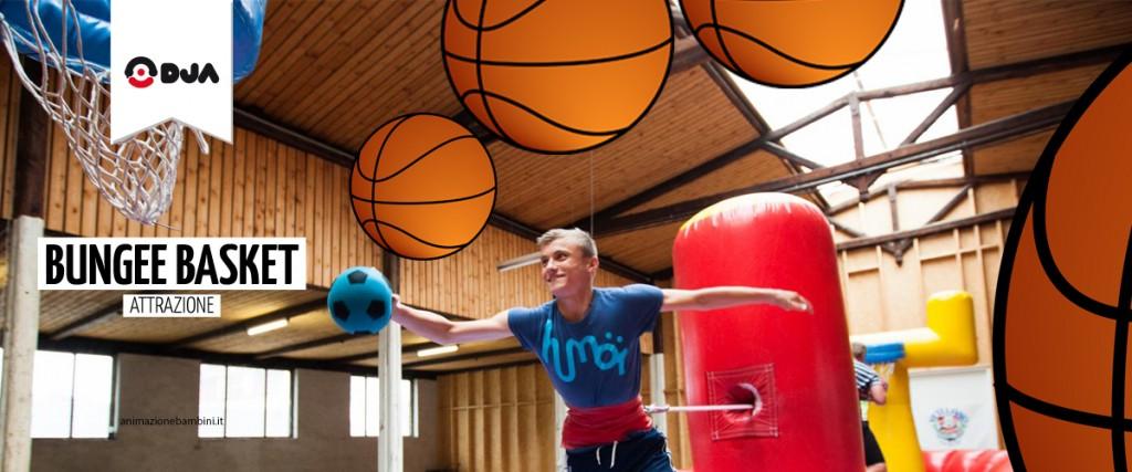 bungee basket attrazione