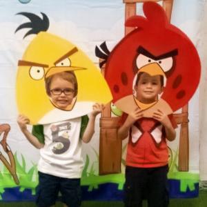 festa tema angry birds