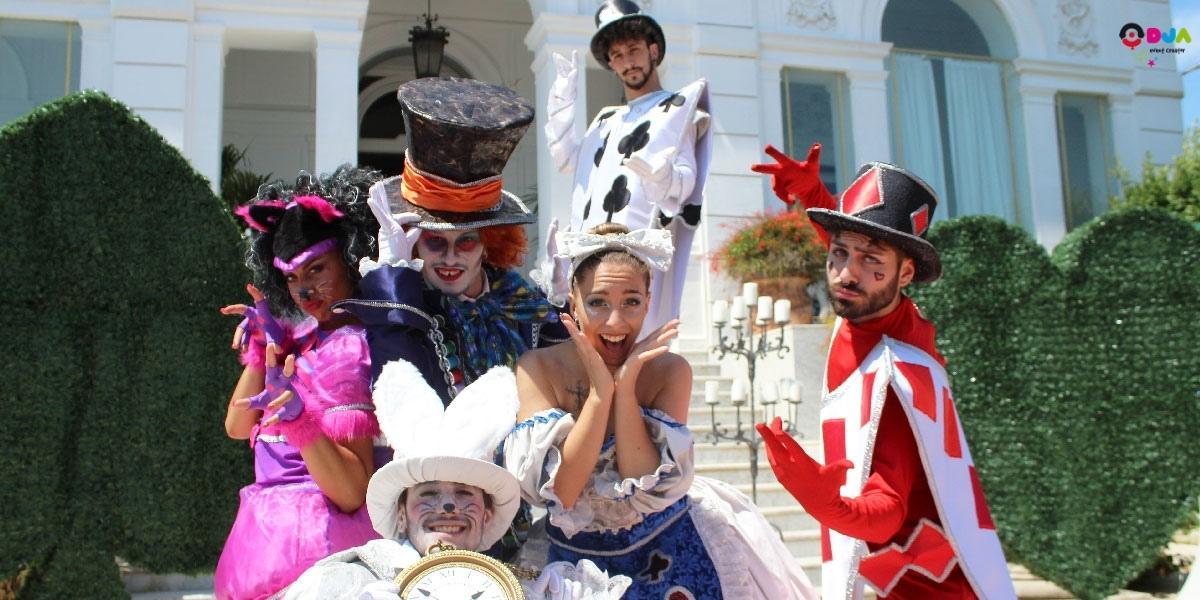 Mini Musical Alice in wonderland Matrimonio Comunione