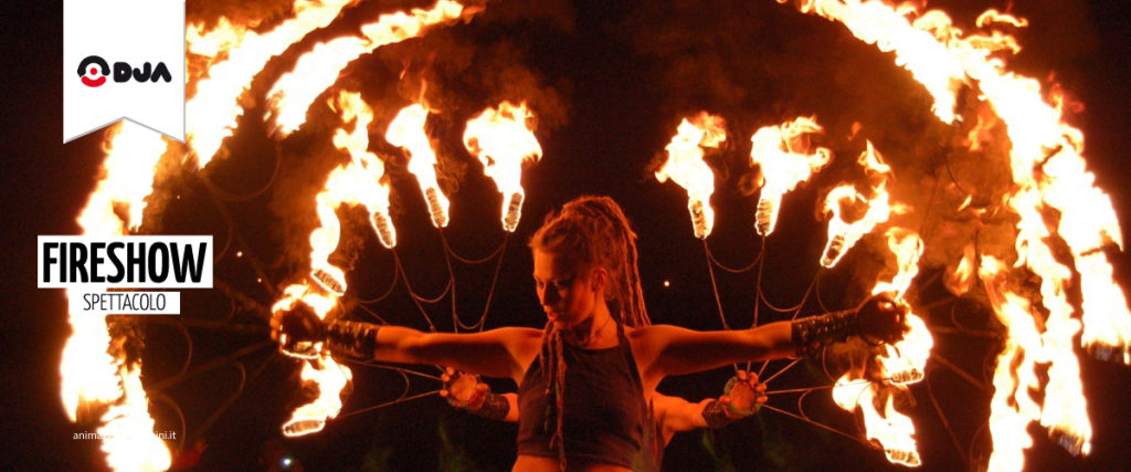 spettacolo fire show