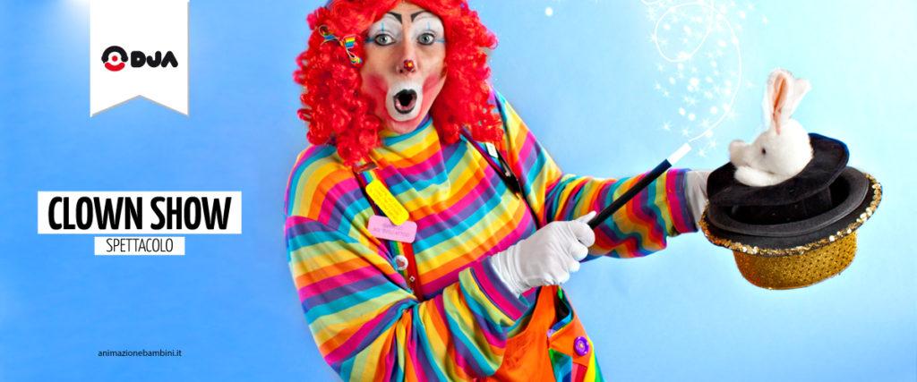 spettacolo clown show