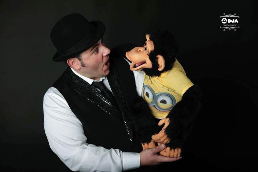 ventriloquo spettacolo dja