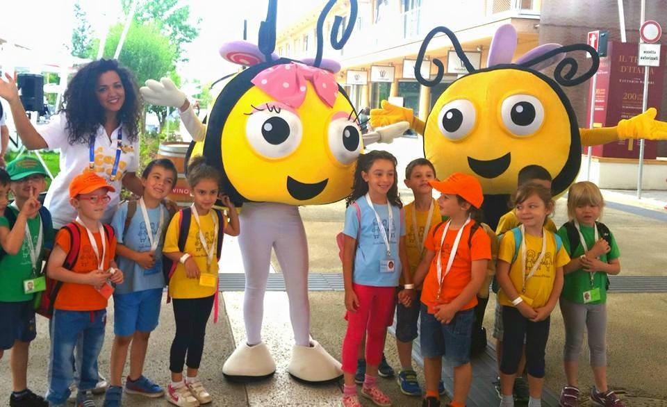 La casa delle api expo milano animazione bambini