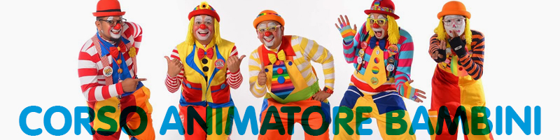 corso animatore bambini