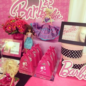 Festa a tema barbie