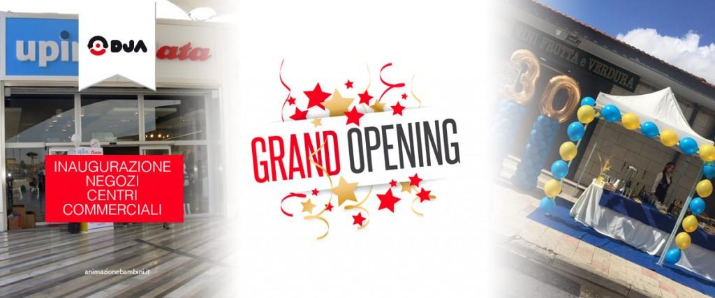 inaugurazioni locali e centri commerciali dja
