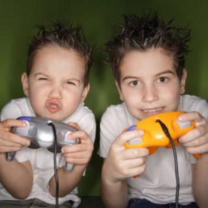 festa a tema videogames