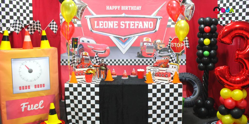 Festa-compleanno-Leone-Stefano-tema-Cars