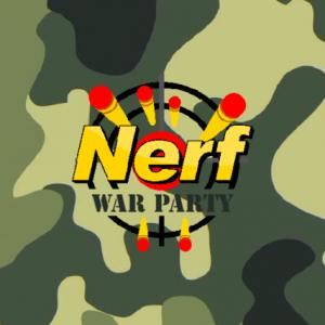 festa a tema nerf party war