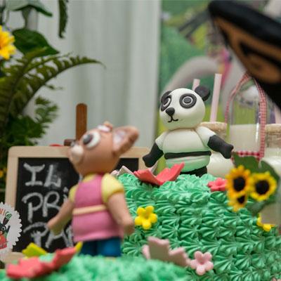 Festa tema Bing Torta