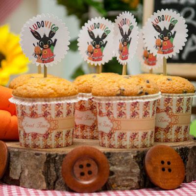 festa tema bing cupcake