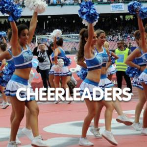 spettacolo cheerleaders