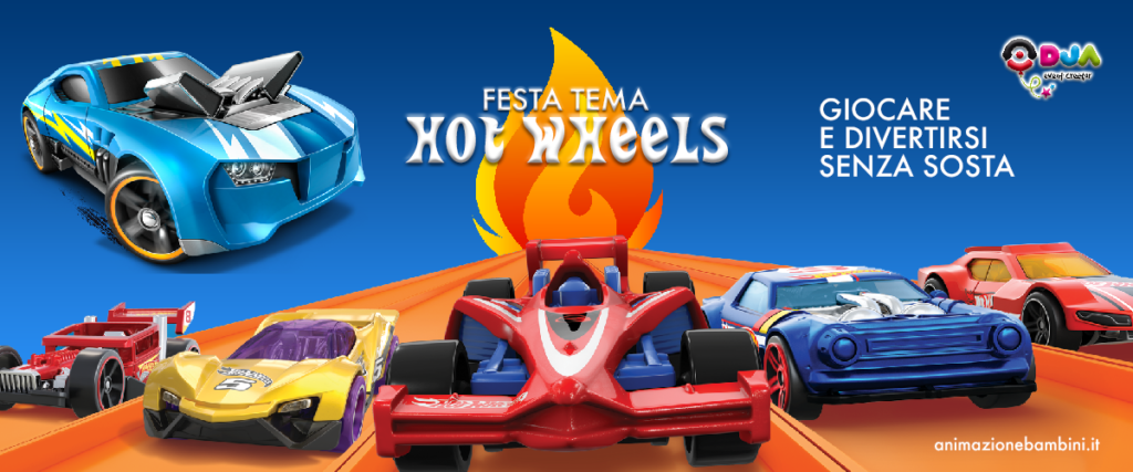 festa a tema hot wheels