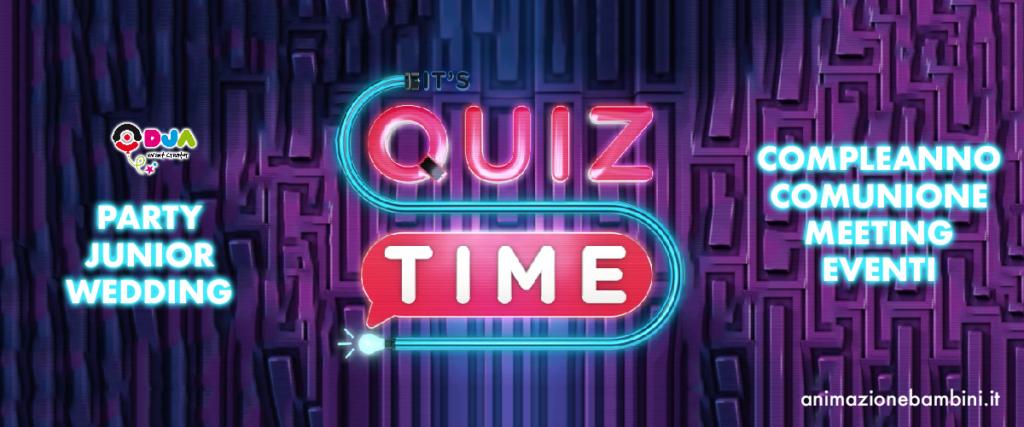 quiz game per eventi dja