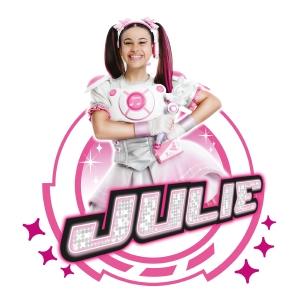 festa tema Miracle tunes julie