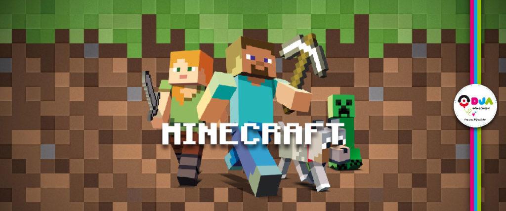 festa a tema minecraft