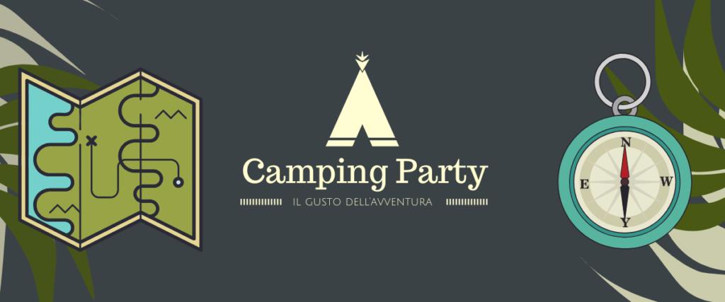 festa a tema camping
