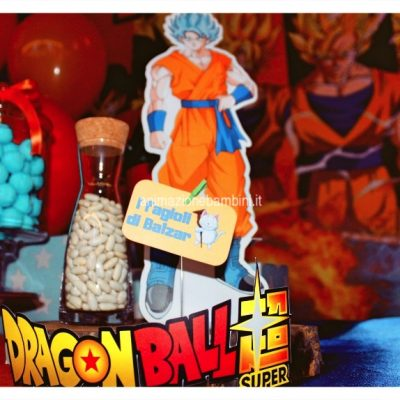festa tema dragon ball allestimento