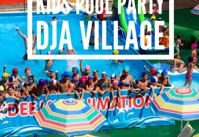 dja summer village pool party