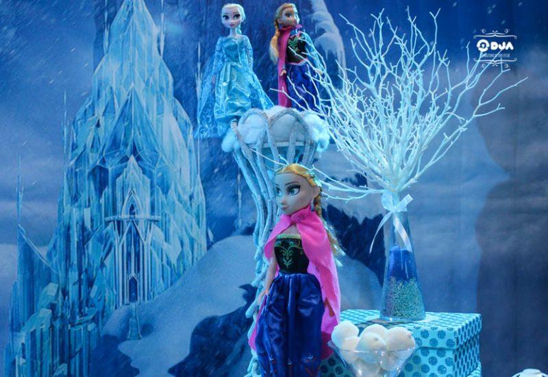 festa di compleanno cristina tema frozen anna