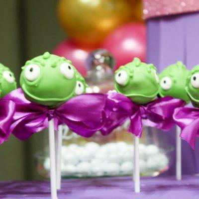 festa di compleanno beatrice a tema rapunzel