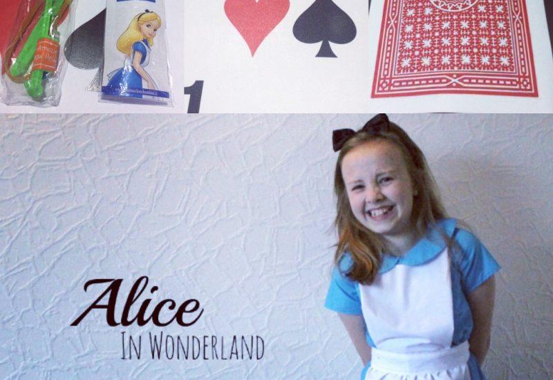 festa a tema alice in wonderland