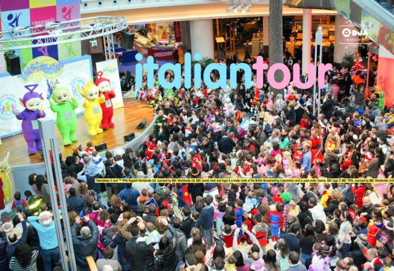 tour italiano teletubbies