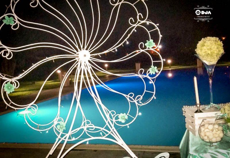 comunione a tema luna park tiffany