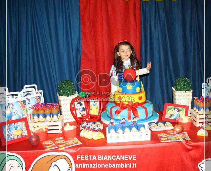 festa a tema biancaneve compleanno
