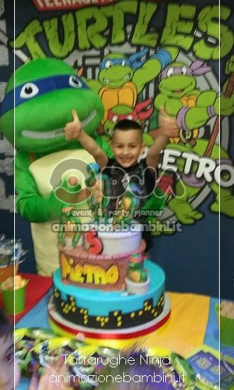 festa a tema tartarughe ninja