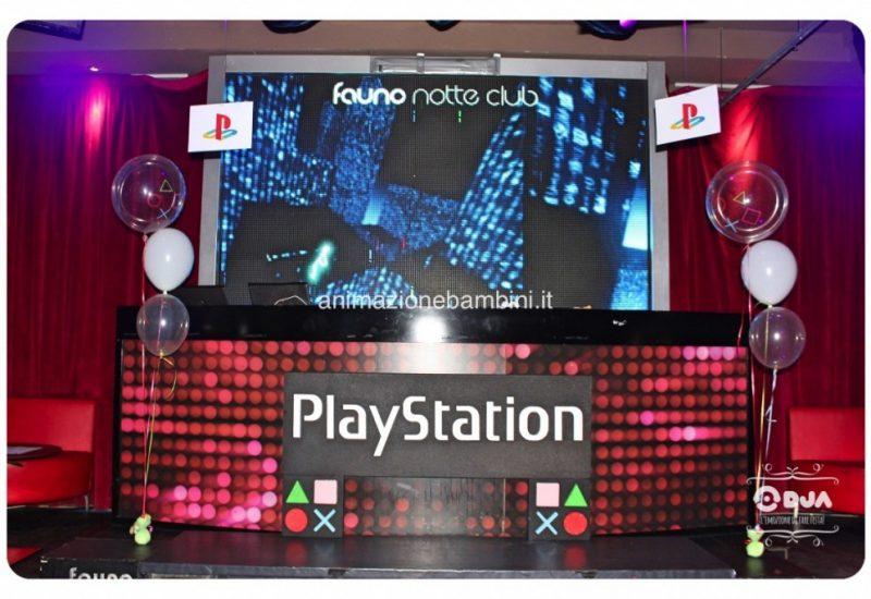 festa a tema playstation scenario