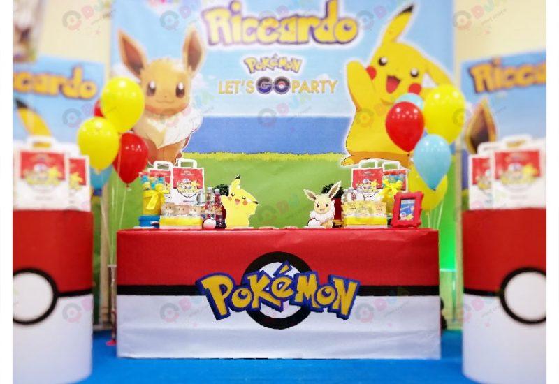 festa a tema pokemon riccardo scenario