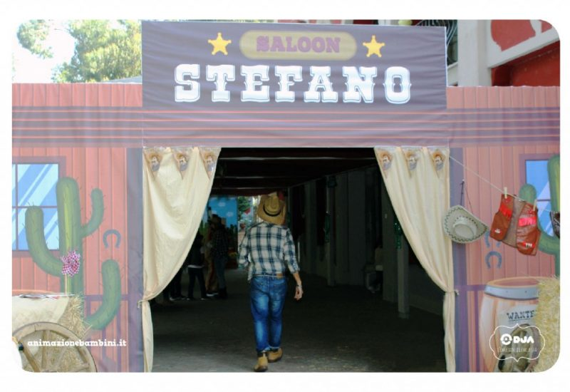 festa stefano western saloon