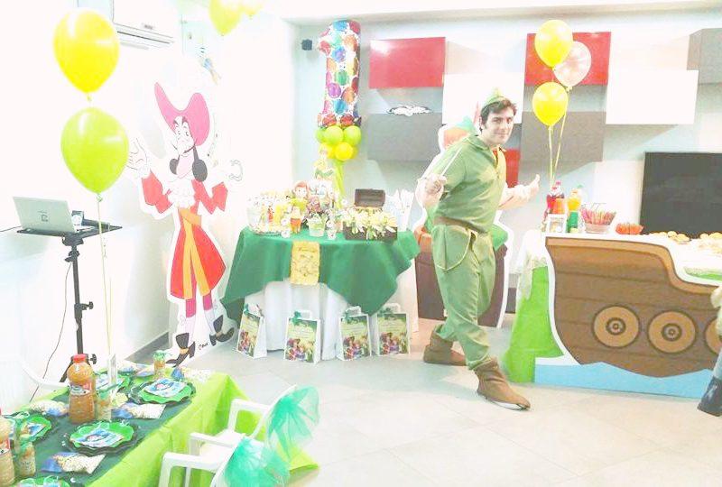 festa di compleanno matteo a tema peter pan
