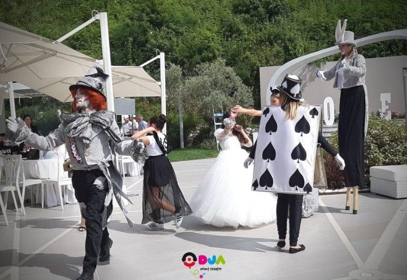 Prima Comunione Tema Alice in Wonderland