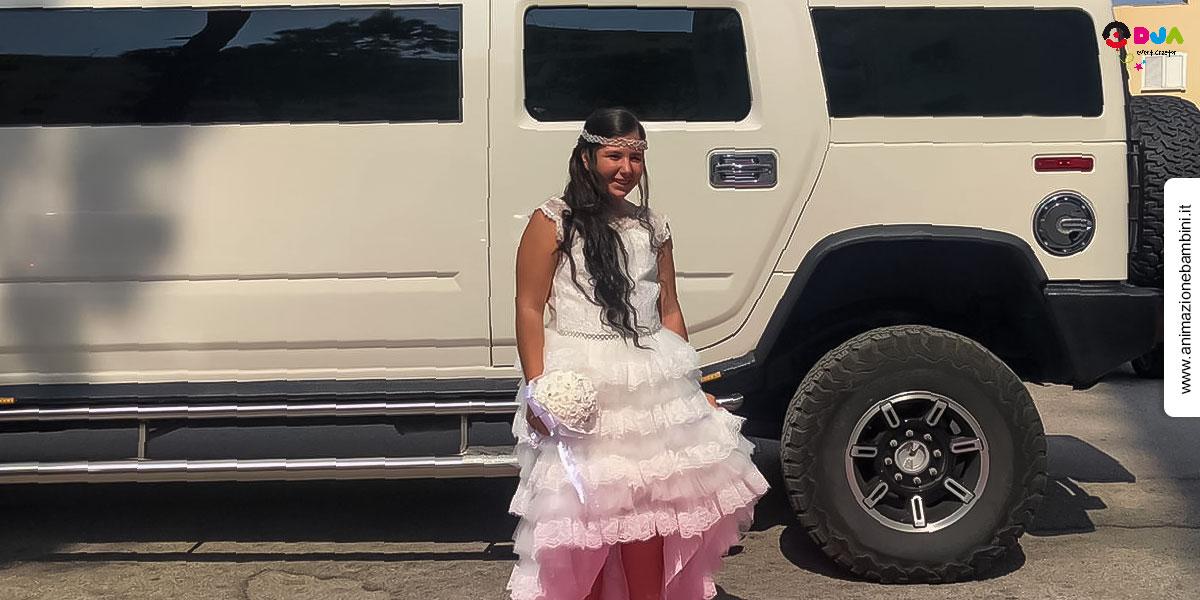 Hummer Limousine Comunione