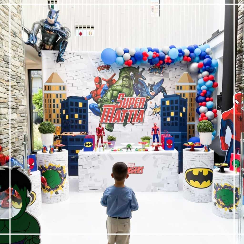 Compleanno Mattia tema Avengers